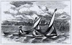 Canoe Travelling: Log of a Cruise on the Baltic, And Practical Hints on Building and Fitting Canoes. By Warington Baden-Powell, London, 1871